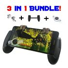 Mobile Game Controller | Phone Grip w/Triggers and Joystick BUNDLE Fortnite/PUBG
