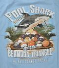 Newport Blue Men's T-Shirt Pool Shark Billiards Bermuda Triangle Tee Light Blue $15.99 USD on eBay