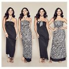 AVON Urban Safari Reversible Maxi Dress 4 Ways To Wear RRP $39.99