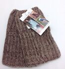 Simply Noelle Women's Zip It Polyester Wrist Warmers Brown or Gray