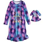 Внешний вид - Girl 4-14 and Doll Matching Galaxy Nightgown Clothes fit American Girl Dollie Me