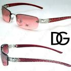 New Dg Eyewear Womens Small Rimless Sunglasses Fashion Designer Oval Wrap Colors
