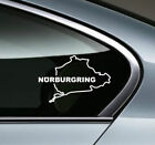 NURBURGRING Racing Performance Motorsport window Vinyl Decal Sticker emblem logo $15.16 USD on eBay