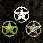 Military Star Sticker Camouflage Star Decal