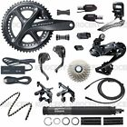 Shimano Ultegra R8060 DI2 T&T trial Upgrade GroupSet 170mm w/ SW-R671P Full Set