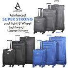 Aerolite Light 8 Wheel Hand Cabin Extra Large XL Check In Hold Luggage Suitcase