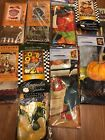 Large House Garden Flags Fall Thanksgiving Turkey Pumpkin Ha