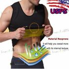 Mens Workout Thermo Vest for Fat Burner Sauna Sweating Body