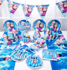Disneys Frozen Tableware Party Decorations Supplies : UK Seller : Free delivery
