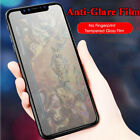 Matte Frosted Flim For iPhone XS Max XR X Tempered Glass Screen Protector Cover
