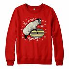 Baa Humbug Christmas Jumper, Funny X-Rated Festive Gift Adults & Kids Jumper Top