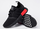 [Adidas] NMD R1 B37618 Black/ Red, (US 4-12), Unisex Shoes Athletic Sneakers
