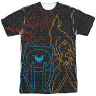 Authentic Adventure Time Trio TV Show Cartoon Network Sublimation Front T-shirt