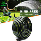 KINK FREE FLEXIBLE GARDEN WATER HOSE 25 50 75 100 Ft. 5/8 In. 3/4 In. Heavy Duty