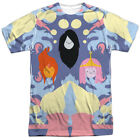 Authentic Adventure Time PB FP Marceline Cartoon Network Allover Front T-shirt