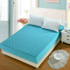 Mattress Cover Bed Protector Full Queen 100% Cotton Solid Fitted Dustproof Soft