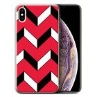 STUFF4 Gel/ TPU Phone Case for Apple iPhone XS Max / Red Fashion