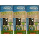 Dr Brown's Options 150ml Wide Neck Glass Bottle 1 2 3 6 12 Packs