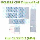 Computer Cpu Thermal Pad 28*28*0.2mm Laird PCM588 Series Wholesale