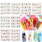 Water Transfer Christmas Decal Nail Art Stickers Fingernail Decoration