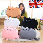 Cute Cat Cartoon Cushion Plush Stuffed Throw Girl Pillow Toy Doll Home XMAS Gift