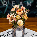 1 Bunch Rustic Retro Tea Rose Wedding Home Decor Flower Artificial Flowers Fake