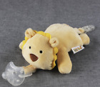 Baby Dummy Pacifier Chain Clip Animal Plush Soother Toys Plush Nipples Holder