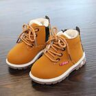 Snow Boots New Winter Kids Girl Boy Thick Anti-slip Fashion Cotton-padded Shoes