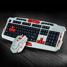 Wireless 2.4G Gaming keyboard and Mouse Set For Computer PC Multimedia Gamer~
