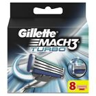 GILLETTE MACH3 TURBO 4 / 8 OR 16 RAZOR BLADES - SAME DAY DISPATCH