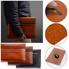 """PU Leather Laptop Sleeve Bag Case For MacBook Air Pro 11"""" 13"""" 15"""" inch Notebook"""