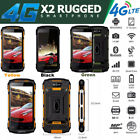 Unlocked 4g Lte Rugged Android Smartphone Land Mobile Outdoor Phone Waterproof