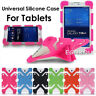 """US For Android 7"""" 8"""" Tablet Kids Safe Shockproof Rubber Soft Silicone Cover Case"""