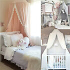Child Baby Bed Canopy Netting Bedcover Mosquito Net Curtain Bedding Dome Tent image