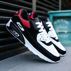 Mens Shock Absorbing Air Running Trainers Jogging Gym Fitness Trainer Shoes Size