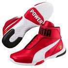 NEW NIB Mens PUMA Ferrari Kart Cat III MID SF High Top Shoes Sneakers Ultra Red