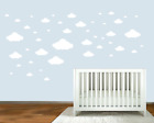 24,31 Or 45 Clouds Removable Wall Stickers Art Vinyl Decal Home Decor Aus Seller