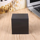 491F Simple Cube Clock Gift Alarm-LED Display Wood Sound Activated Home Decor