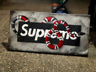 Gucci Snake/Supreme. Spray Paint Art. Stretched Canvas.