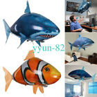 Remote Control Inflatable Balloon Air Swimmer Flying shark Fish Radio Blimp DZG