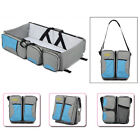 3 in 1 Diaper Tote Bag Travel Bassinet Nappy Changing Station Carry Baby Bed CN