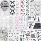 Внешний вид - Birthday Balloon Transparent Silicone Clear Stamps DIY Scrapbook Embossing Bird