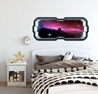 Space Scape Wall Decal Horse Head Nebula Galaxy 3d Space Ship Window Vinyl