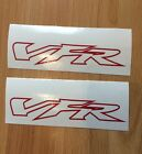 VFR Outline Fairing 150mm decals sticker Fit Honda all colours