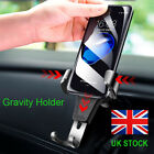 Uk Gravity Car Phone Holder Air Vent Mount Stand For Iphone 7 8 X Samsung S8 S9+