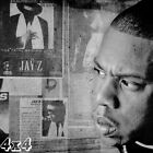 Jay-Z Reasonable Doubt Black & White Collage Poster or Art Print