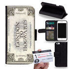 PIN-1 Movie Harry Potter Series C Phone Wallet Flip Case Cover for Samsung