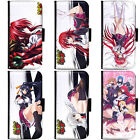 PIN-1 Anime High School DxD Phone Wallet Flip Case Cover for Samsung