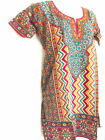 Внешний вид - Indian Kurta Kurti Designer Women Ethnic SHORT SLEEVES Top Tunic Pakistani small