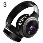 Wireless Bluetooth Headphone HiFi Stereo Headset Earphone Noise Cancelling & Mic
